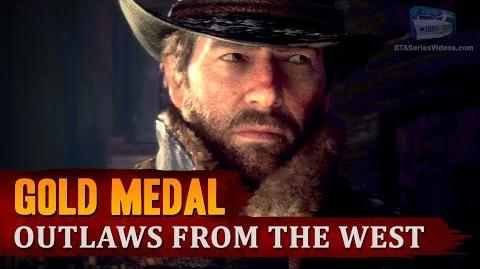 Red Dead Redemption 2 - Intro & Mission -1 - Outlaws from the West -Gold Medal-