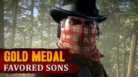 Red Dead Redemption 2 - Mission 81 - Favored Sons Gold Medal