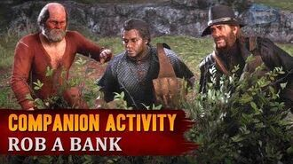 Red Dead Redemption 2 - Companion Activity 11 - Bank Robbery (Charles) Exclusive Mission