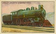 Amazing Inventions Card Steam Locomotive