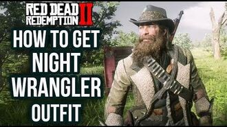 Red Dead Redemption 2 - How To Get The Night Wrangler Outfit! Location Guide