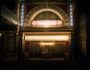 Fontana Theatre at night