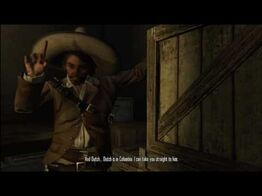 Javier pointing his finger