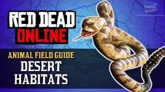 Red Dead Online - Desert Habitats Animal Locations Guide Naturalist Role