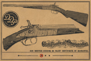 DOUBLE-BARRELED SHOTGUN RDR2 Wheeler Rawson and Co