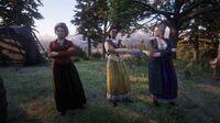 Susan, Tilly and Karen at Horseshoe Overlook