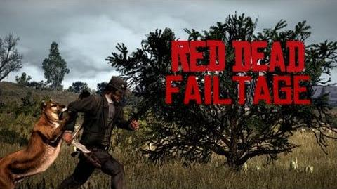 Funny Red Dead Redemption Fails