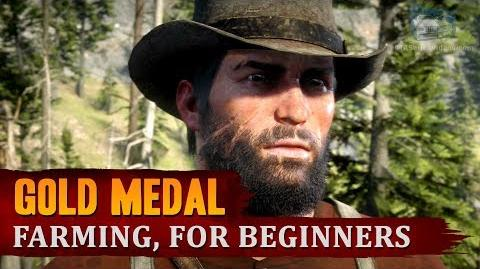 Red Dead Redemption 2 - Mission 89 - Farming, for Beginners Gold Medal
