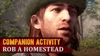 Red Dead Redemption 2 - Companion Activity -6 - Home Robbery (Sean)