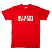 RDR2 Outlaw Essentials Red RDRII Tee
