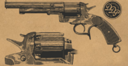 Lemat Revolver RDR2 Wheeler Rawson and Co