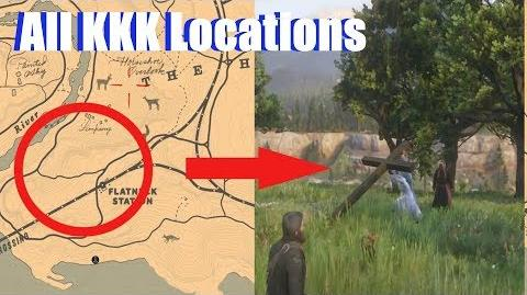 RDR2 KKK Location All Encounters (Where is the KKK in Red Dead Redemption 2)