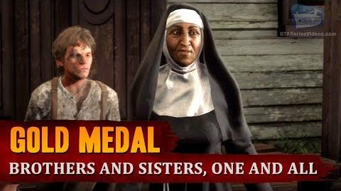 Red Dead Redemption 2 - Mission -49 - Brothers and Sisters, One and All -Gold Medal-