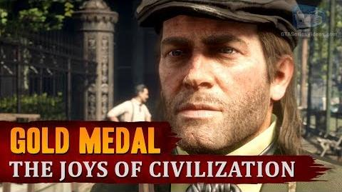 Red Dead Redemption 2 - Mission 43 - The Joys of Civilization Gold Medal