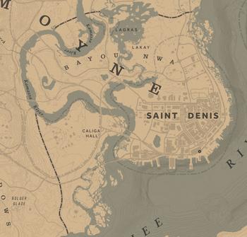 Red Dead Redemption 2 Watsons Blockhutte Karte.Bayou Nwa Red Dead Wiki Fandom Powered By Wikia