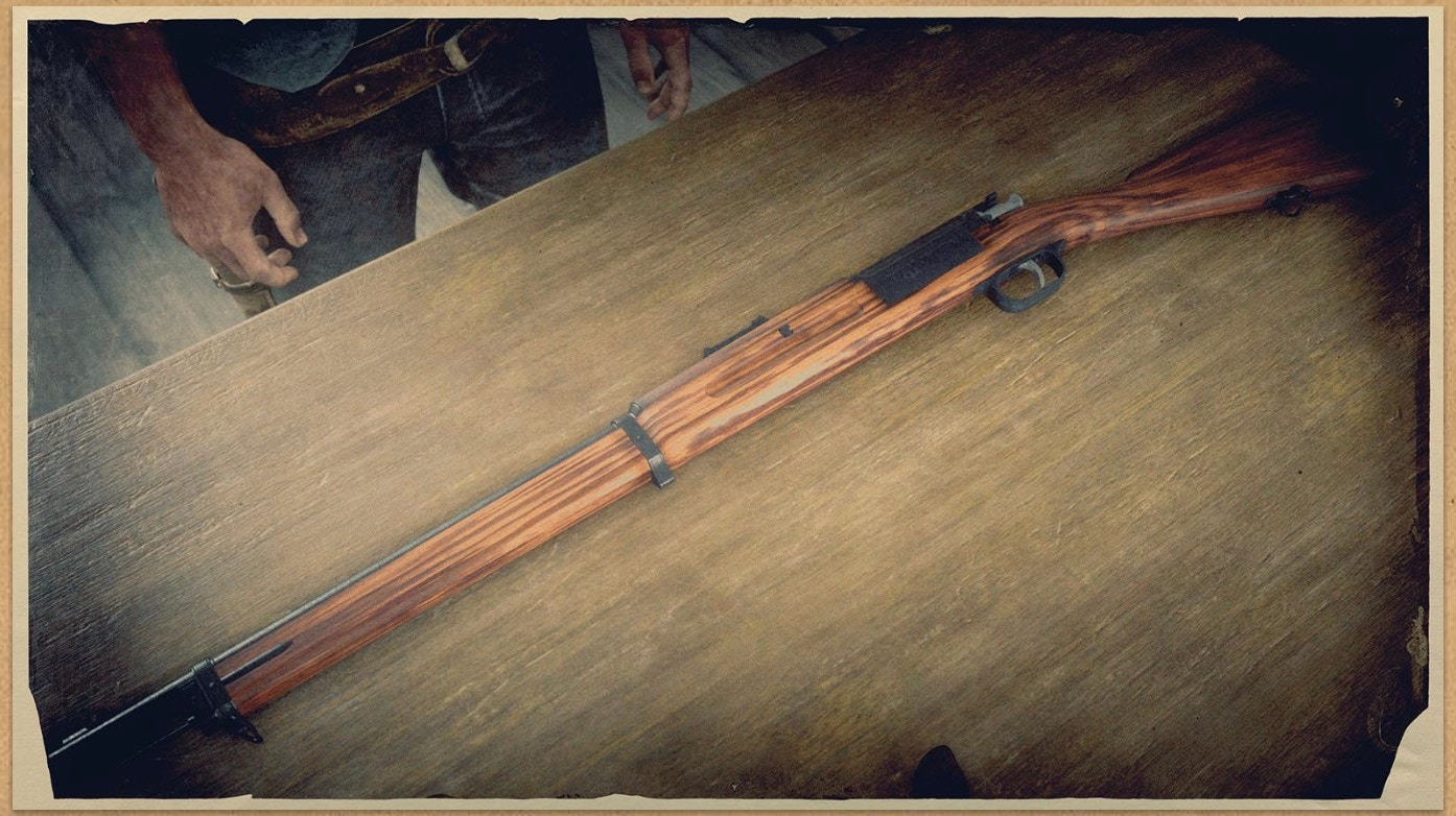 Bolt Action Rifle (RDR 2) | Red Dead Wiki | FANDOM powered