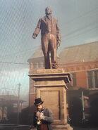 McKnight Statue