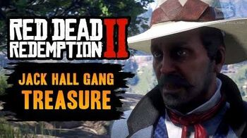 Red Dead Redemption 2 - Jack Hall Gang Treasure Location