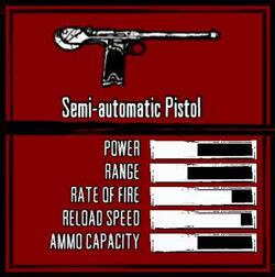 Rdr weapon semi-auto pistol