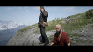 RDR2 POI 24 Meditating Monk 02