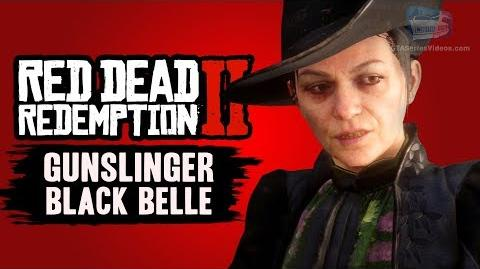 Red Dead Redemption 2 Black Belle (RDR2 Gunslinger)