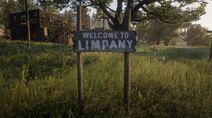 Limpany's road sign