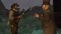 Rdr marston receives blunderbuss