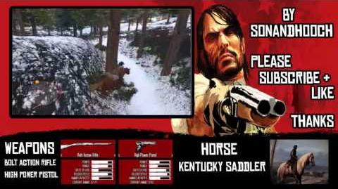 RED DEAD REDEMPTION HOW TO CAPTURE A BOUNTY TARGET ALIVE