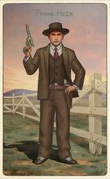 Famous Gunslingers Card Set