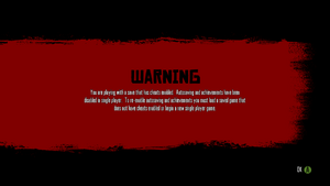 RDR-Cheats-Warning