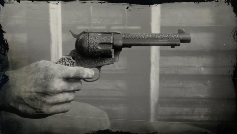 Grangers Revolver Red Dead Wiki Fandom Powered By Wikia