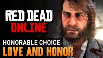 Red Dead Online - Mission 1 - Love and Honor (Honorable) Gold Medal