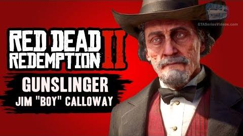 "Red Dead Redemption 2 Jim ""Boy"" Calloway (RDR2 Gunslinger)"