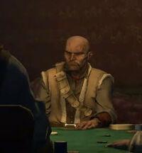 Pister playing poker