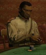 Wilfredo playing poker