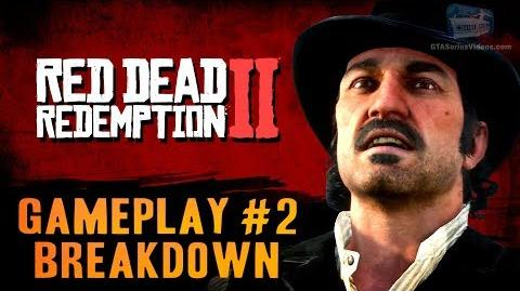 Red Dead Redemption 2 - Gameplay Video Part 2 Breakdown