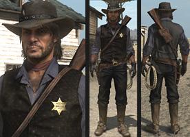 US Marshal Uniform | Red Dead Wiki | FANDOM powered by Wikia