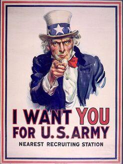 I want ya for U.S. army