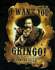 I want ya gringo