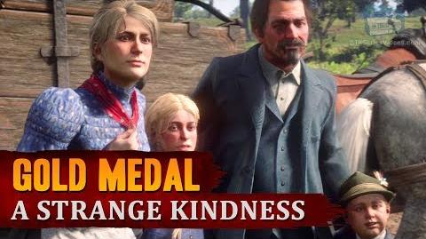 Red Dead Redemption 2 - Mission -24 - A Strange Kindness -Gold Medal-