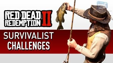 Red Dead Redemption 2 - Survivalist Challenge Guide