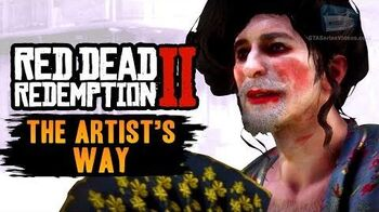 Red Dead Redemption 2 Stranger Mission - The Artist's Way