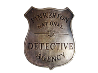 Pinkerton badge