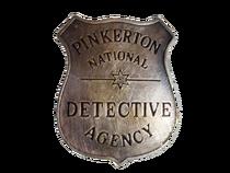 Pinkerton badge