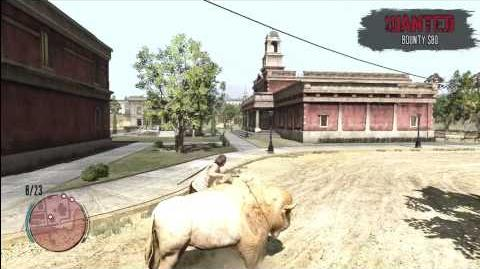 Red Dead Redemption - Albino Buffalo - First Look