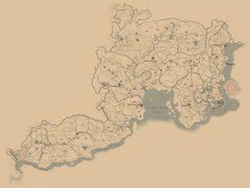 RDR2-Locations