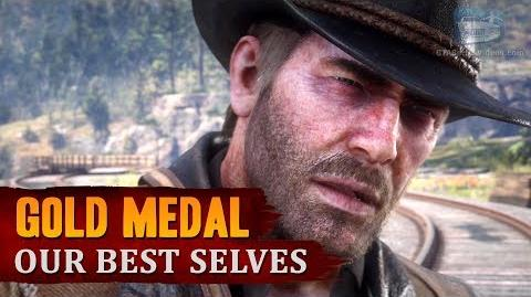 Red Dead Redemption 2 - Mission -85 - Our Best Selves -Gold Medal-