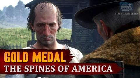 Red Dead Redemption 2 - Mission -12 - The Spines of America -Gold Medal-