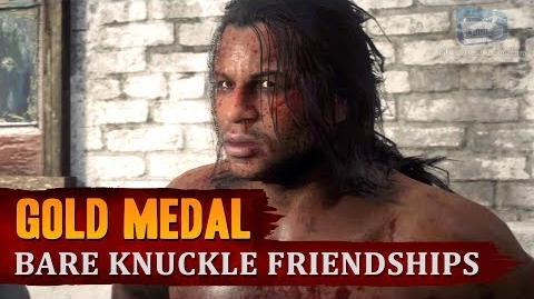 Red Dead Redemption 2 - Mission 97 - Bare Knuckle Friendships Gold Medal
