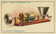 Amazing Inventions Card Cylinder Phonograph